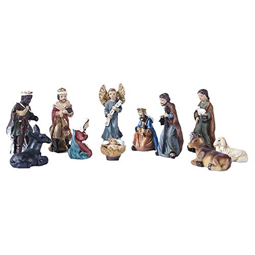 A Wide Variety of Styles Holy Family Jesus Birth Catholic Christmas Figurines Crafts Hand-Painted Resin Decoration Christ Ornaments Friends Gifts Home Decor …