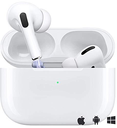 Auricular Inalámbrico 5.0 Auricular Inalámbrico Control Táctil con Graves Profundos In-Ear Auriculares Bluetooth con Caja de Carga Rápida IPX7 Impermeables,para Android/iPhone/Samsung/Apple AirPods