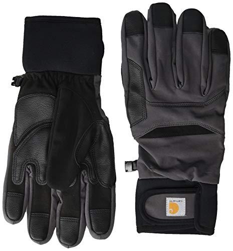 Carhartt Herren Chisel Glove Handschuhe für kaltes Wetter, Dunkelgrau/Schwarz, XL