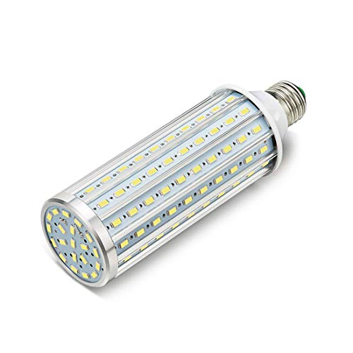 ONLT LED Maiskolben Birnen, E27 60W 6000K 5850LM 160X5730SMD 550W quivalent Aluminium High Power Retrofit Glhbirne, AC85-265V, LED Straenlaterne, 360 Grad Flutlicht, fr Garage, Auffahrt(60W-Kaltweiß)