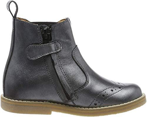 Froddo Mädchen G3160100 Chelsea Boots, Silber (Silver I12), 30 EU