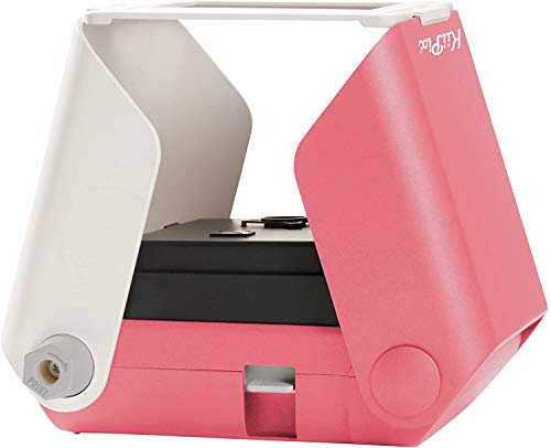 KiiPix Stampante fotografica per Smartphone, Rosa