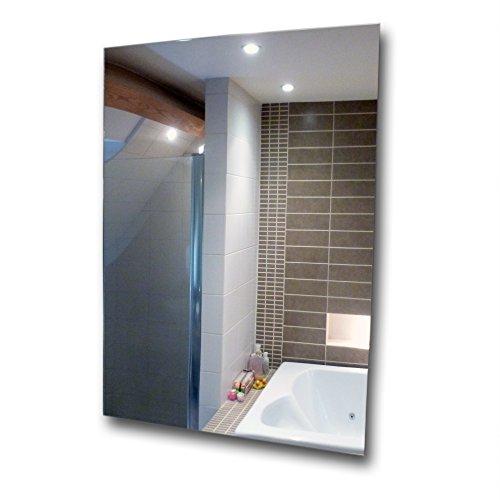 Hojas de acrílico A4 con diseño de espejo, espejo seguro de plástico a prueba de rayaduras