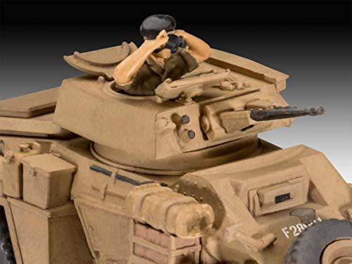 Revell 03289 Humber Mk.II, Panzermodellbausatz 1:76 originalgetreuer Modellbausatz für Fortgeschrittene, unlackiert
