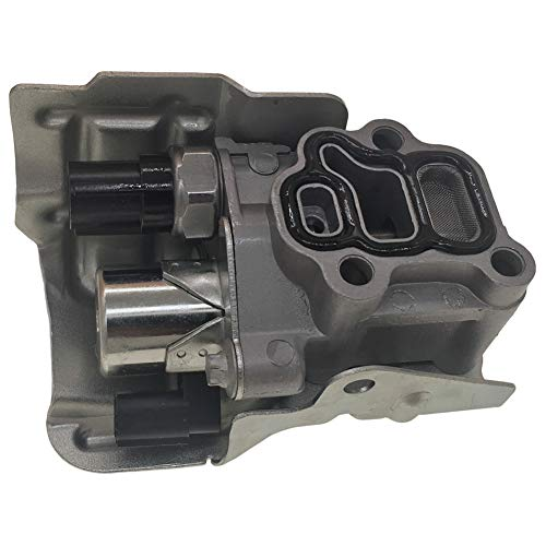 Spool Valve Assembly VTEC Solenoid w/Timing Oil Pressure Switch and Gasket 15810-RAA-A03 15810-PPA-A01 15810-RAA-A01 Compatible With Honda CR-V Civic Si Element Accord Acura Rsx