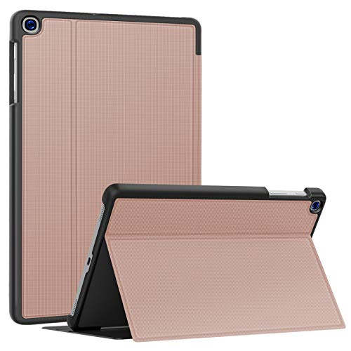 Soke Galaxy Tab A 10.1 Case 2019, Premium Shock Proof Stand Folio Case,Multi- Viewing Angles, Soft TPU Back Cover for Samsung Galaxy Tab A 10.1 inch Tablet [SM-T510/T515/T517],Rose Gold