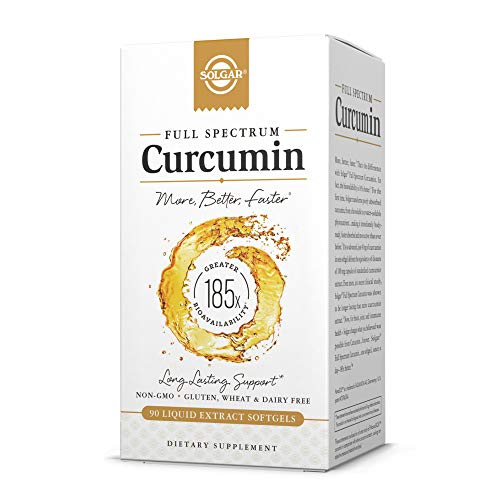 Photo of Solgar, Full Spectrum Curcumin 90softgels