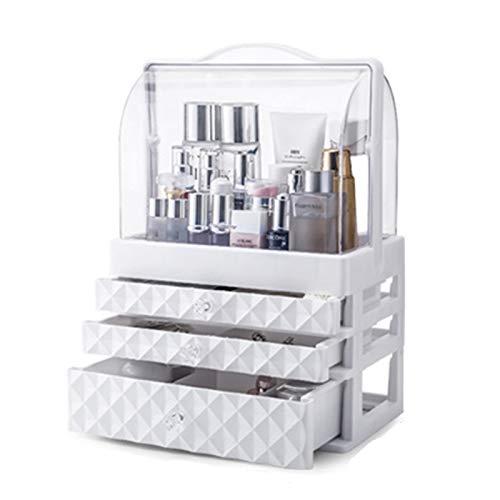 ANANAN Caja de Almacenamiento de cosméticos,Organizador de Escritorio,cajón, Productos portátiles para el Cuidado de la Piel a Prueba de Polvo, se Utiliza para almacenar cosméticos,C