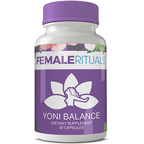 Female Rituals - Yoni Balance - Vaginal Tightening Pills - No Tightening Gel or Cream Needed - Natural Vaginial Tightening Products With Kacip Fatimah - Vagy Rejuvenation Vaginal Dryness and Moisturizer