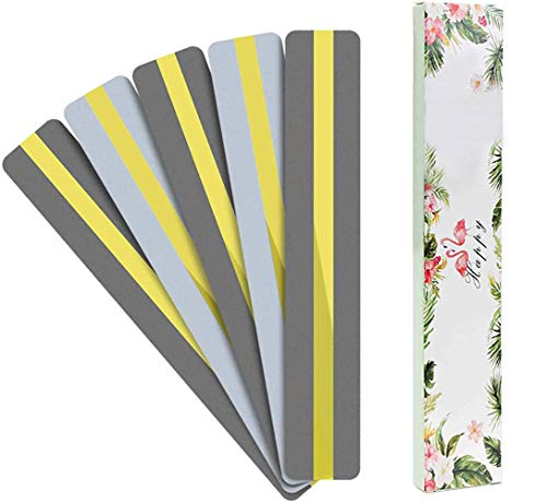 Premium Upgrade Guided Reading Strips Colored Overlays Highlight Bookmarks, Richoi Reading Highlight Strips / 5 Pcs Highlighter Helps with Dyslexia with Gift Package