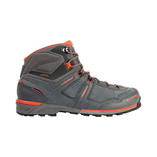 Mammut Herren BOTA ALNASCA PRO MID GTX Hombre Stiefel für Bergsteigen und Trekking, Graphite-Zion, 42.66666667