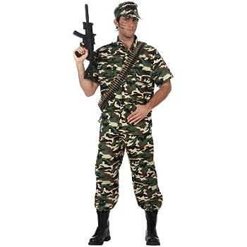 Atosa- Disfraz militar soldado camuflaje, M-L (10304): Amazon.es ...