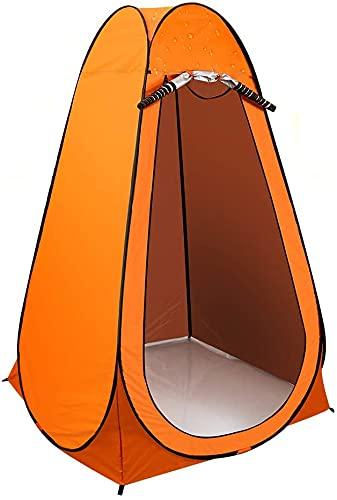 Pop-up Toilettenzelt Umkleidezelt, CrazyFire Tragbar Camping Dusche Zelt, Mobile Umkleidekabine Lagerzelt mit Tragetasche Tragbares Wasserfest Camp Toilette Zelt Für Camping, Strand, Angeln
