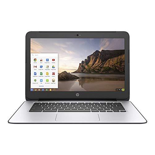 HP Chromebook 14 G4 Intel Celeron N2840 2.16GHz 4GB 16GB, Black/Silver (Renewed)