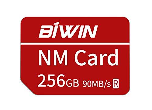 Huawei NanoMemory Memory Card 256GB NM Card NM-Speicherkarte, bis zu 90 MB/s, kompatibel mit Huawei P30 / P30 Pro/Mate X/Mate Xs
