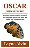OSCAR FISH CARE GUIDE: Illustration guide to everything you need to know about oscar fish care: tank...