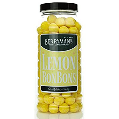 original lemon bonbons retro sweets gift jar by berrymans sweet shop (bon bons) - classic sweets, traditional taste. Original Lemon BonBons Retro Sweets Gift Jar by Berrymans Sweet Shop (Bon Bons) – Classic Sweets, Traditional Taste. 41WMiww5KOL