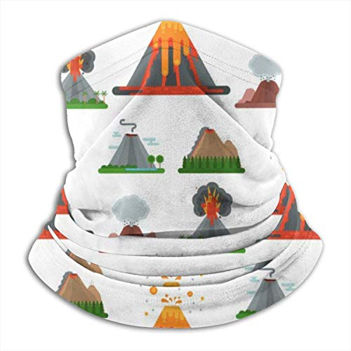 Magic Headwear Volcanic Eruptions Outdoor Scarf Headbands Bandana Mask Neck Gaiter Head Wrap Mask Sweatband
