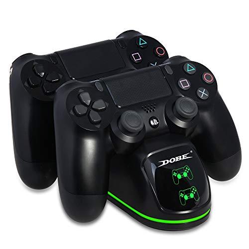 EDtara Gift voor vrouwen mannen voor PS4/Slim/Pro gamecontroller joypad joystick handvat USB-oplader snellaadstation voor Playstation 4