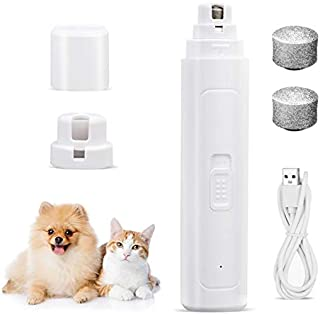 Sponsored Ad - HATISS Dog Nail Grinder and Trimmer, 2-Speed Electric Pet Nail Clippers, Portable Quiet & Safe Pet Grooming...