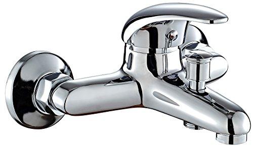 DP Grifería SN-0001 Grifo de bañera, color plateado