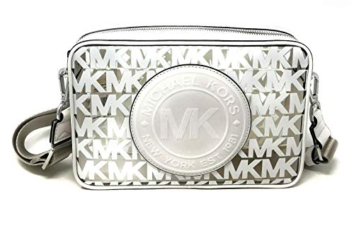 "Clear/MK logo plastic Dimensions: 10"" W x 6"" H x 2.5"" D Adjustable removable strap Drop: 22"""