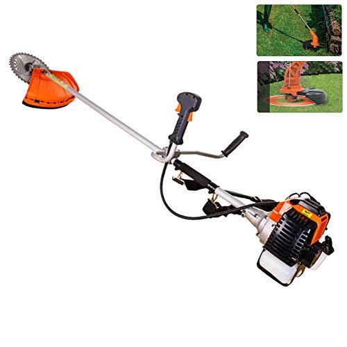 Great Deal! DNNAL String Trimmer, Harvester Garden Weeder Side Hanging Piggyback Lawn Mower Brush Cu...