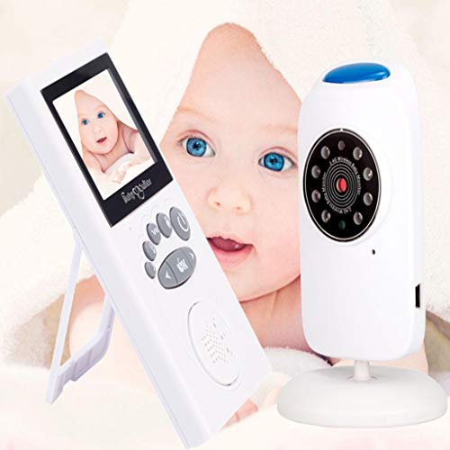 Babyfoon Met Camera, 2,4 Inch Wirelesswith Infrarood Nachtzicht, 2-weg Audio Talk, Temperatuur Display, Lullaby, For Babykamers Ouderen