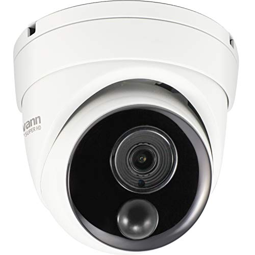 Swann 4K NVR Dome IP Hardwired Camera with Face Recognition