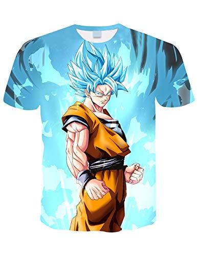 Camiseta Dragon Ball Niño 3D Impresión Hombres Mujer Camisetas y Camisas Unisex...