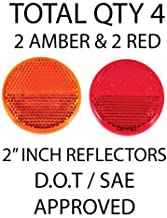 All Star Truck Parts] Qty 4 (2 Red/2 Amber) - 2