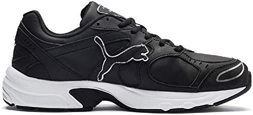 Puma Axis Sl, Unisex-Erwachsene Hallenschuhe, Schwarz (Puma Black-Puma Silver), 43 EU (9 UK)