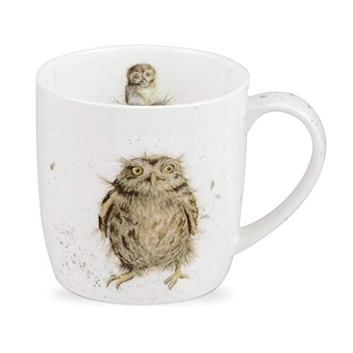 Royal Worcester Wrendale Designs What a Hoot Tasse 0.31L