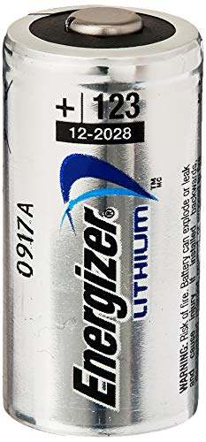 Energizer, EL123BP-4 4 Pack, 123 Lithium Batteries