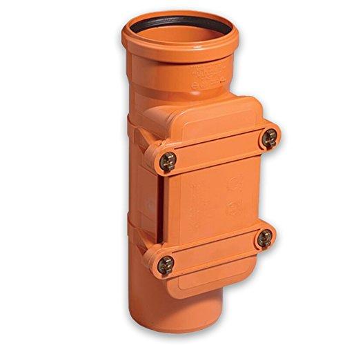 Kanalrohrsystem KG-Reinigungsrohr, eckig DN 110