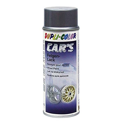 Dupli-Color 385919 Cars Lackspray Felgensilber, 400 ml, Aluminium