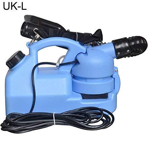 Famyfamy 7L Eléctrico Ulv Nebulizador Inteligente, Eléctrico Ulv Nebulizador Portátil Nebulizador Máquina Ultra bajo Capacidad Rociador Mosquito Killer, GB Enchufe Estándar Tubo