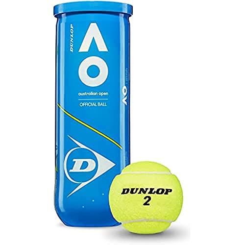 DUNLOP 601354 Rubber Tennis Ball, Size Regular (Green)