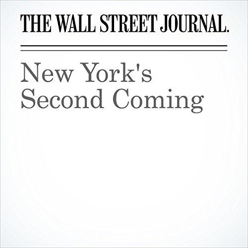 New York's Second Coming copertina