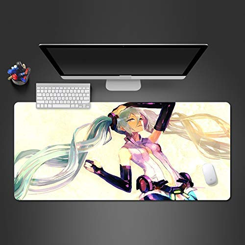 Mouse pad Mouse Pad Anime Mouse Pad Mouse Mats Game Player Computer Gorgeous Large Desk Mat to Gamer Mause Pad to Gamer Computer mat