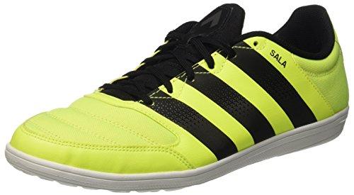 adidas Ace 16.4 Street, Scarpe da Calcio Uomo, Giallo/Nero (Amasol Negbas Plamet), 46 2/3 EU