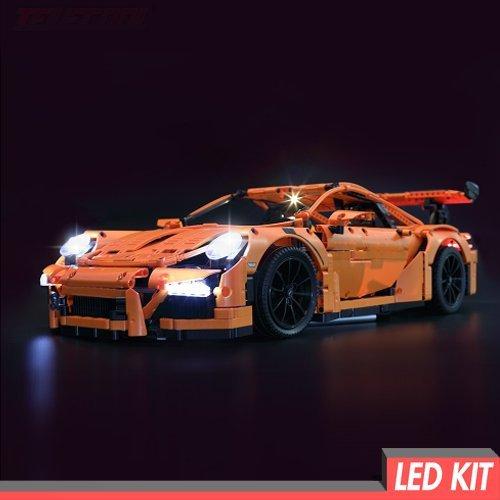 Preisvergleich Produktbild Handcraft Brick Group LED Licht Kit für Lego Porsche 911 GT3 RS - Light 42056