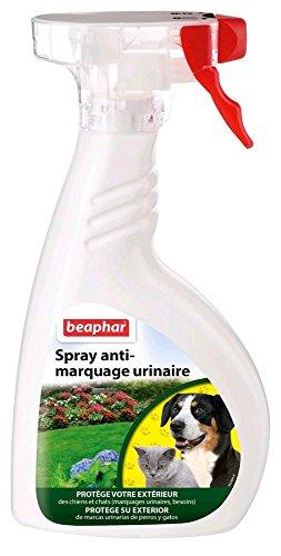 Beaphar - Spray éducateur anti-marquage urinaire extérieur - chien - 400 ml