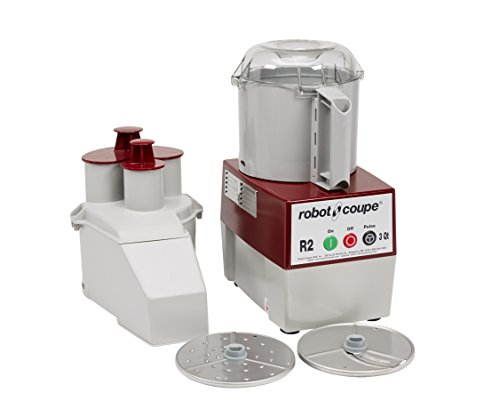 Robot Coupe - 4581 R2N Continuous Feed Combination Food Processor with 3-Quart Polycarbonate Bowl,...