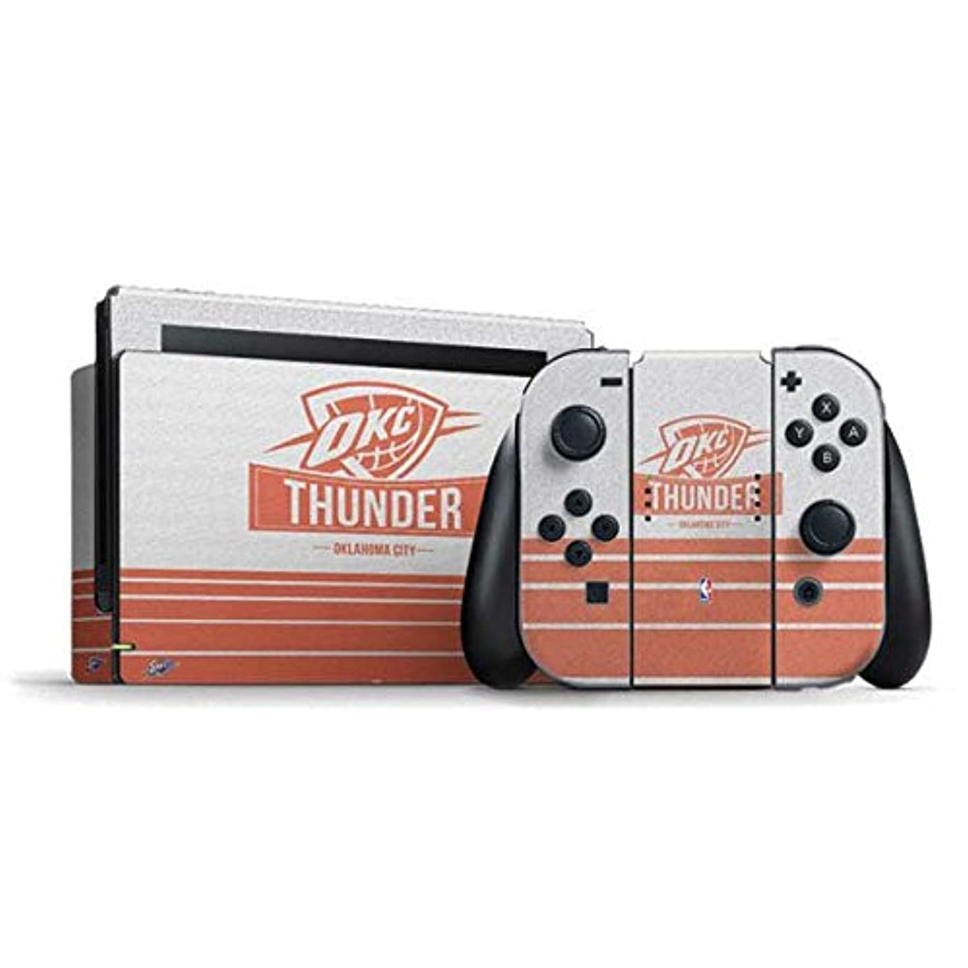 NBA Oklahoma City Thunder Nintendo Switch Bundle Skin - Oklahoma City Thunder Static Vinyl Decal Skin For Your Switch Bundle