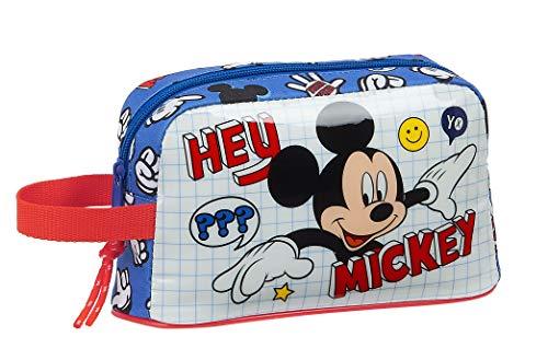 Safta Porta Desayunos Termo Térmica de Mickey Clubhouse, 215x65x120mm, Multicolor (Mickey Mouse)