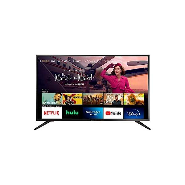 All-New Toshiba 43LF421U21 43-inch Smart HD 1080p TV – Fire TV Edition