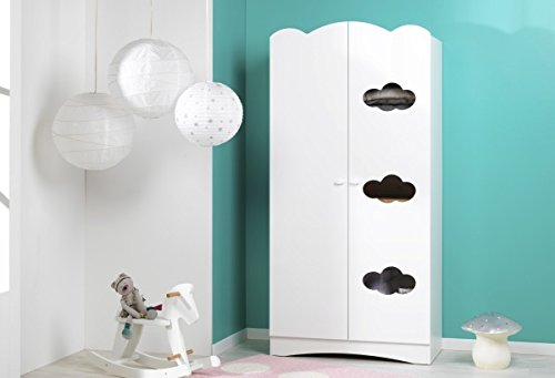 Alfred & Compagnie Armoire bebe blanc Louise