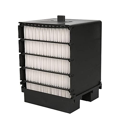 Refrigeradores evaporativos Mini refrigerador de aire Mini, ventilador de aire acondicionado portátil, Ventilador Pequeño USB al aire libre, Luces LED coloridas, Filtro de 165x165x190cm (Color: Produc