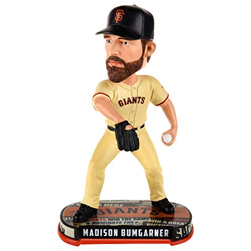 MLB San Francisco Giants Mens San Francisco Giants Bobble Headline Style Madison Bumgarner Designsan Francisco Giants Bobble Headline Style Madison Bumgarner Design, Team Colors, One Size